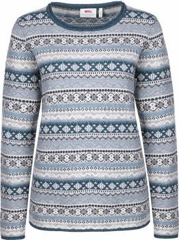 Fjällräven Övik Folk Knit Sweater W frost green
