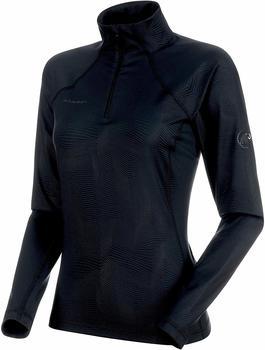 Mammut Snow ML Half Zip Pull Women black