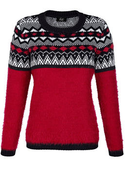 Paola! Pullover mit Norwegermuster (092213)