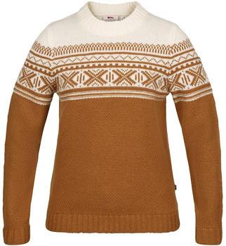 Fjällräven Övik Scandinavian Sweater W acorn