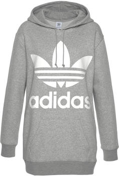 Adidas Oversize Trefoil Hoodie medium grey heather (DH3154)