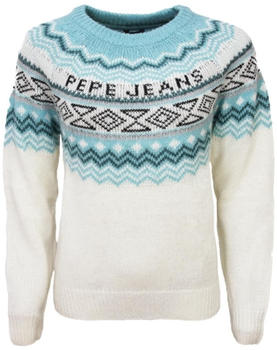 Pepe Jeans Jacquard-Pullover Alina mousse