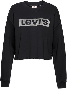 Levi's Graphic Crew Sweatshirt new logo caviar (56340-0004)
