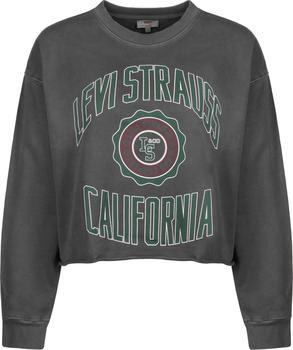 Levi´s Graphic Crew Sweatshirt caviar (56340-0000)
