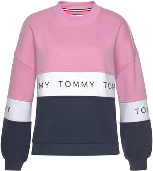 Tommy Hilfiger Farbblock-Sweatshirt mit Logo-Tape (DW0DW06001)