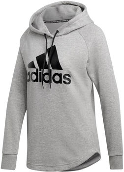 Adidas Must Have Badge of Sport Hoodie medium grey heather/black (DU0016)