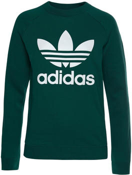 Adidas Trefoil Sweatshirt Women collegiate green (DV2623)