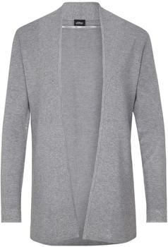S.Oliver Cardigan mit Glitzer-Detail easy grey (29812642179-9428)