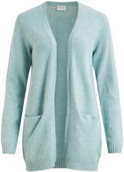 Vila Viril Open Strickjacke blue haze