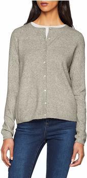 Vero Moda Kurzer Strick-Cardigan light grey melange (10206071)