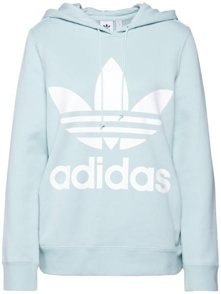 Adidas Originals Trefoil Hoodie Damen vapour green (ED7503)