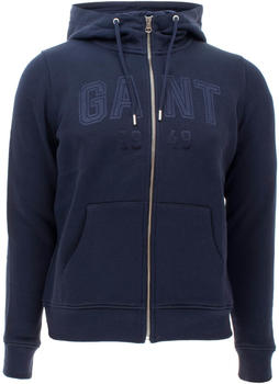 GANT Full Zip Hoodie evening blue (4204673-433)