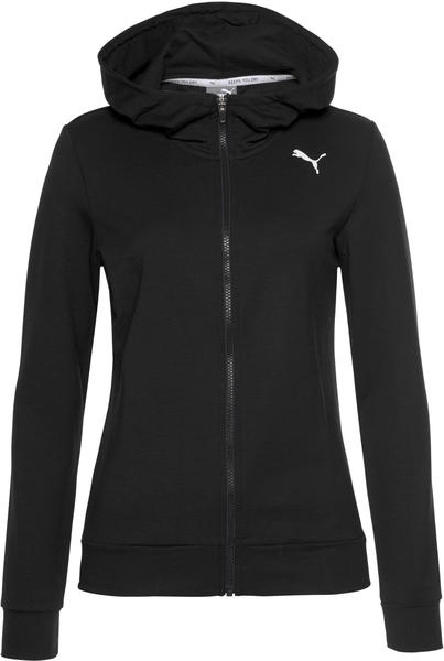 Puma Modern Sports FZ Logo Hoodie (580080) black