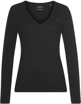 GANT Extra Fine Lambswool V-Neck Sweater black (4800502-5)