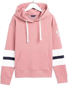 GANT Graphic Block Stripe Hoodieash rose (4203624-606)