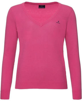 GANT Extra Fine Lambswool V-Neck Sweater love potion (4800502-634)