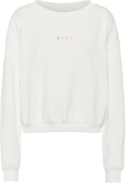 Roxy Sweatshirt snow white (ERJFT04158-WBK0)
