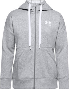 Under Armour Rival Sweatjacke gray (1356400-035)