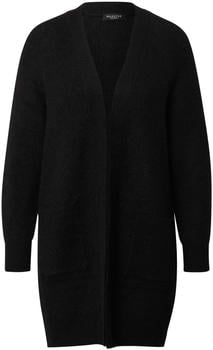 Selected Wool Blend Cardigan (16074480) black