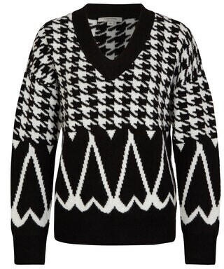 Comma Wollmix-pullover (88.010.61.3515.99A5) schwarz