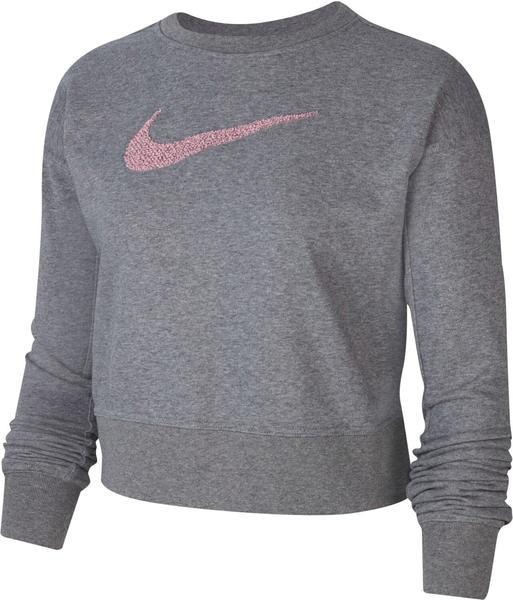 Nike Swoosh Dri-FIT Get Fit carbon heather/smoke grey/smoke grey