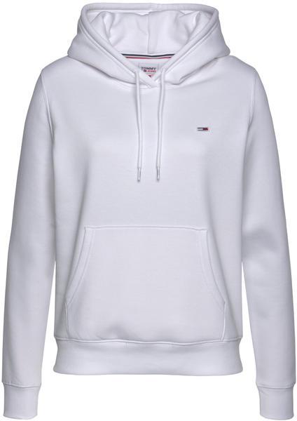 Tommy Hilfiger Organic Cotton Regular Fit Hoody (DW0DW09228) white
