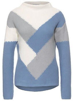 Street One Pullover Mit Colourblock (A301491) angel blue
