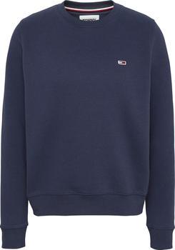 Tommy Hilfiger Organic Cotton Regular Fit Fleece Sweatshirt (DW0DW09227) twilight navy