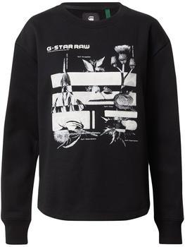 G-Star Graphic Thistle Xzyph Sweatshirt black