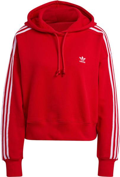 Adidas Adicolor Classics Crop Hoodie scarlet