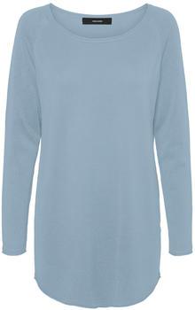 Vero Moda Vmnellie Glory Ls Long Blouse Noos (10220902) blue fog