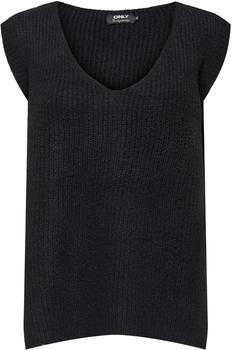 Only Onlcora Vest Ex Knt (15221370) black