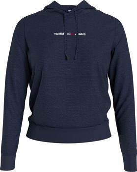 Tommy Hilfiger Linear Logo Hoody (DW0DW10132) twilight navy