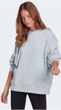 Adidas Originals Adicolor 3D Trefoil Oversize Sweatshirt halo blue (GN2846)
