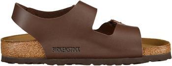 Birkenstock Milano Birko-Flor dark brown