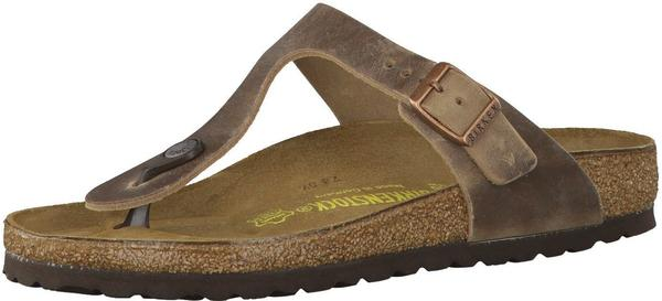 reputable site ac30b 737a3 Birkenstock Gizeh Nubuk tabacco brown Test | Angebote ab 60 ...