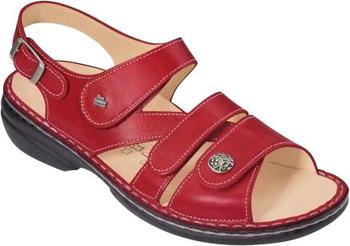 Finn Comfort Gomera red
