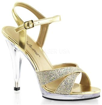 Pleaser Flair 419 gold