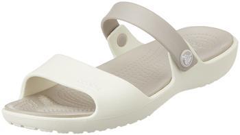 Crocs Women's Coretta Sandal oyster/platinum