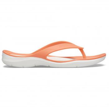 crocs-womens-swiftwater-flip-grapefruit-white
