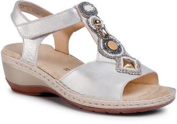 Ara Ladies Sandals (12-37261) whitegold/silver