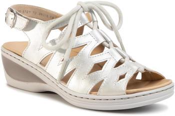 Ara Ladies Sandals (12-39025) whitegold/silver