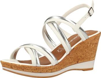 Tamaris Sandals (1-28009-24) white/silver