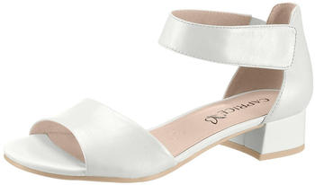 Caprice Ladies Sandals (28212-24) white perlato