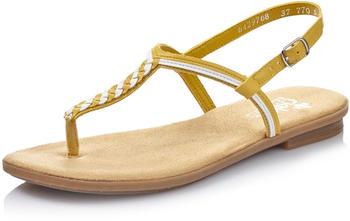 Rieker Sandals yellow/weiss (64297-68)