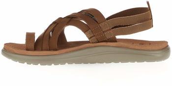Teva Voya Strappy Leather Sandals chipmunk (1106868)