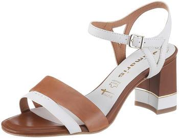 Tamaris Sandals (1-28033-24) white/cognac