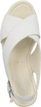 Gabor Warbler Wedge Heel Sandals (45.791) white