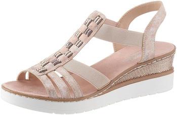 Rieker Sandals rosa (V3822-31)