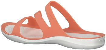 Crocs Swiftwater Sandalen orange/weiß (203998-82Q)
